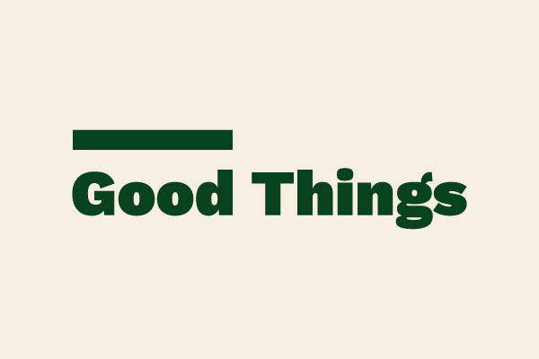 The Good Things wordmark