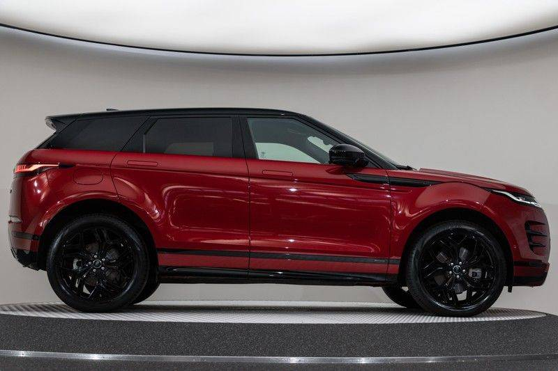 "Land Rover Range Rover Evoque P300 R-Dynamic 300pk AWD Black Pack Panoramadak ClearSightSpiegel MeridianSound Volleder AmbientLight Navi Keyless Full-Led DAB 20"" 360Camera Pdc afbeelding 13"