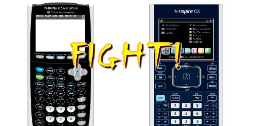 TI Nspire-CX vs TI-84 Plus