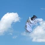 "Triinu Lille, Estonia. ""Cloud IV"" 2010. Photograph, aluminium/acrylic FineArt, 70x90cm"