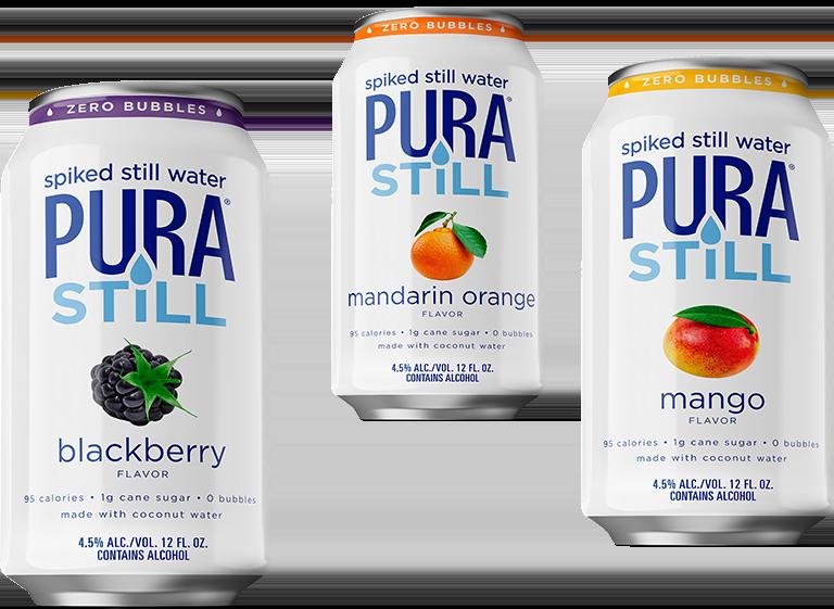 Pura Still cans