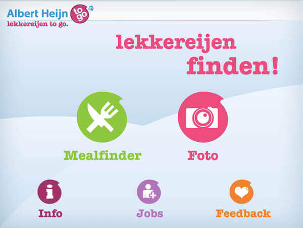 Preview of the project Albert Heijn