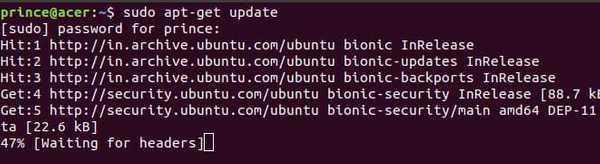apt-get linux command