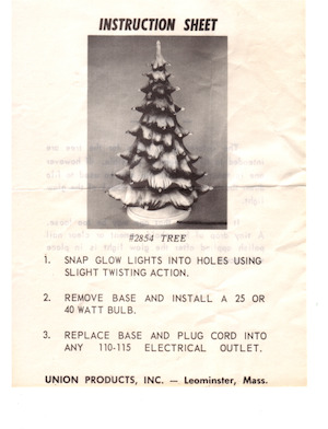 Union Products Tree #2854 Instruction Manual.pdf preview