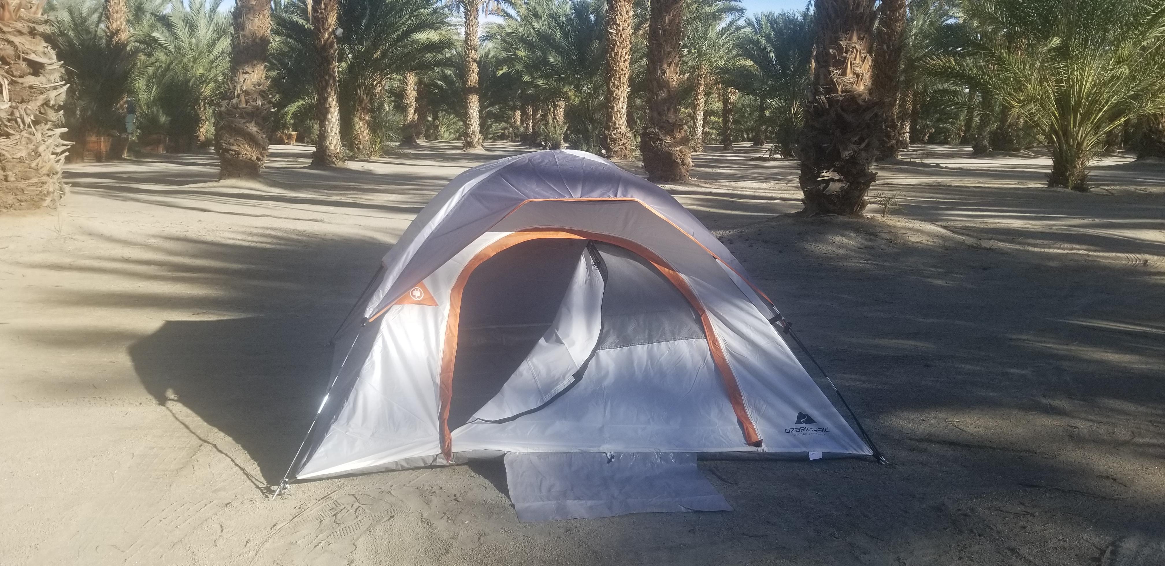 BYO Tent on SAND