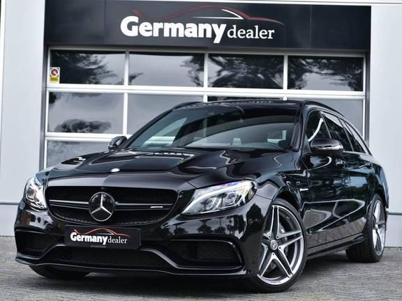 Mercedes-Benz C-Klasse C63 T AMG Perf-Uitlaat Pano Burmester Comfort-Memo HUD Rij-Ast TopView Keyless