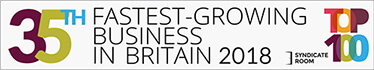 35th Fastest Growing Business in Britain 2018