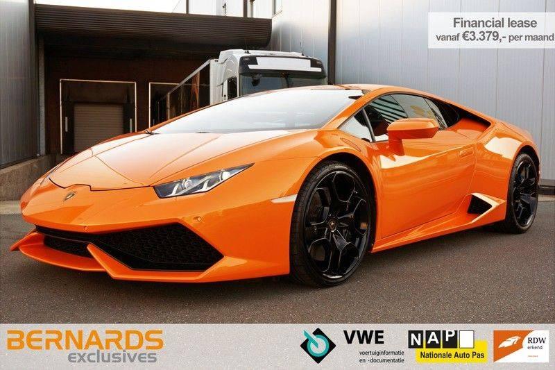Lamborghini Huracan LP610-4 5.2 V10 Arancio Borealis afbeelding 1