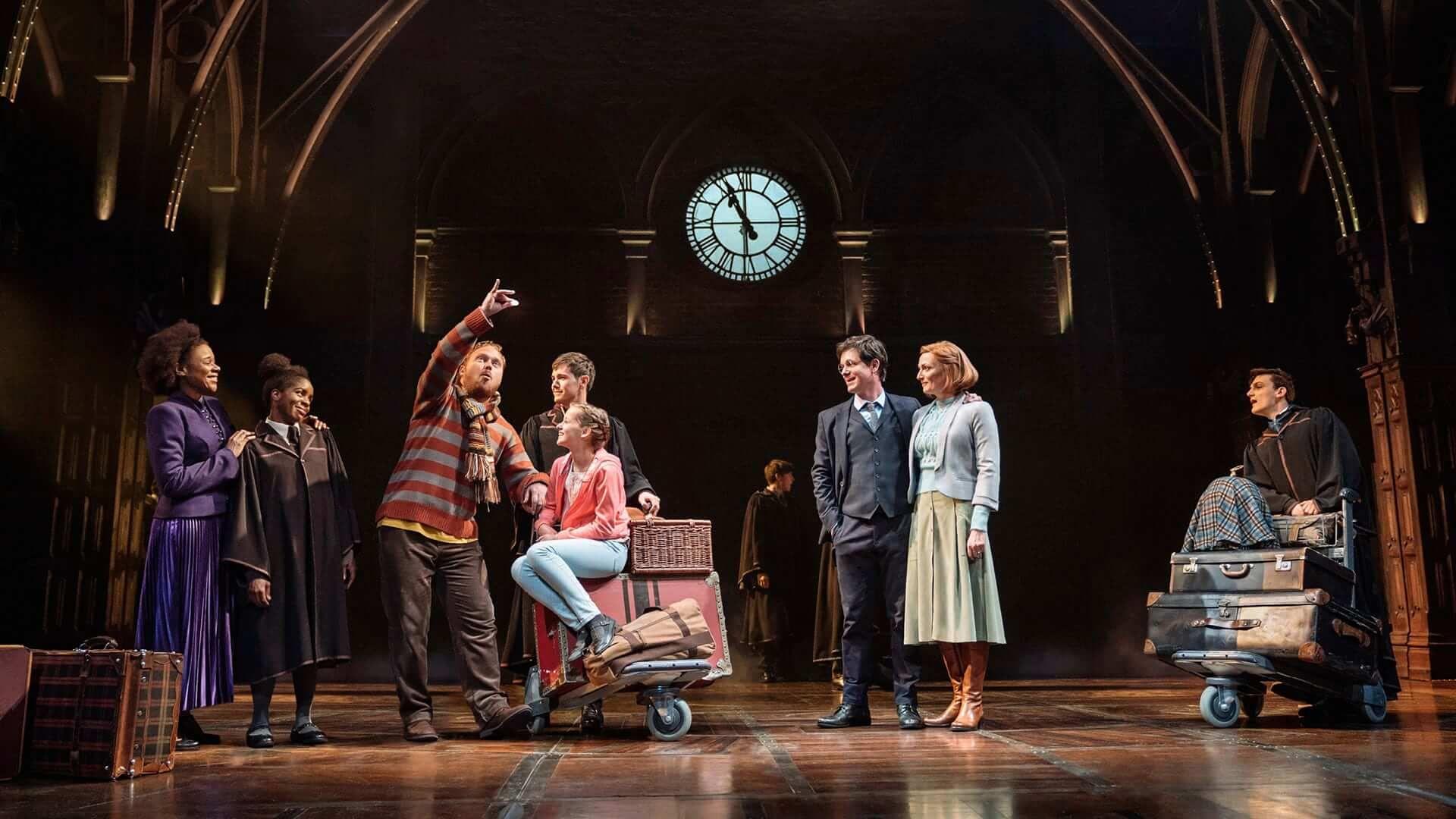 Спектакль «Гарри Поттер и Проклятое дитя» в театре в Сан-Франциско / Matthew Murphy, mercurynews.com