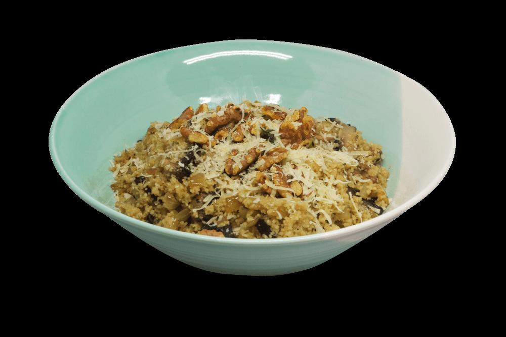 Mushroom couscous