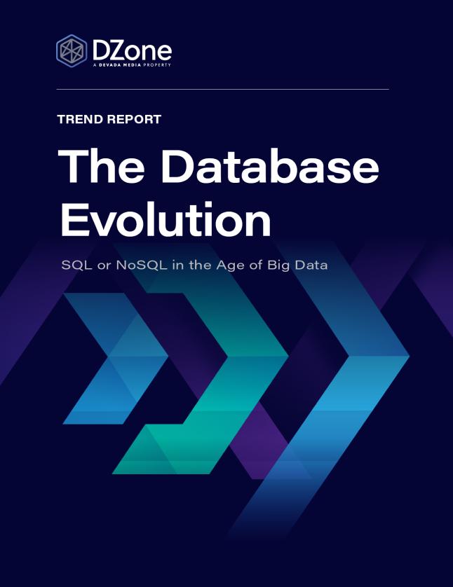 the database evolution