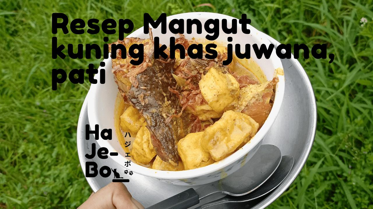 Resep mangut manyung khas juwana pati