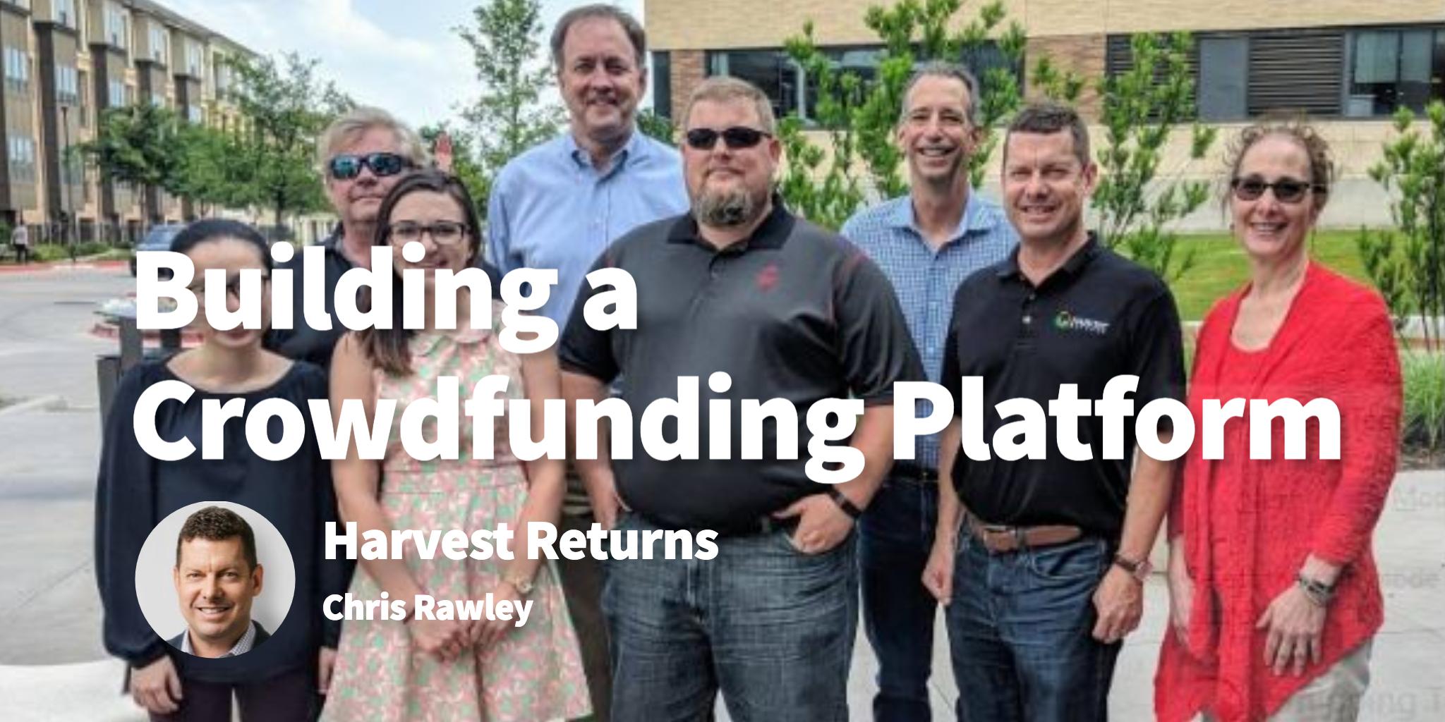 Harvest Returns Chris Rawley