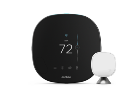 SmartThermostat with voice control | ecobee