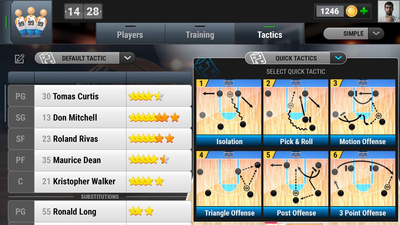 My basketball team Game