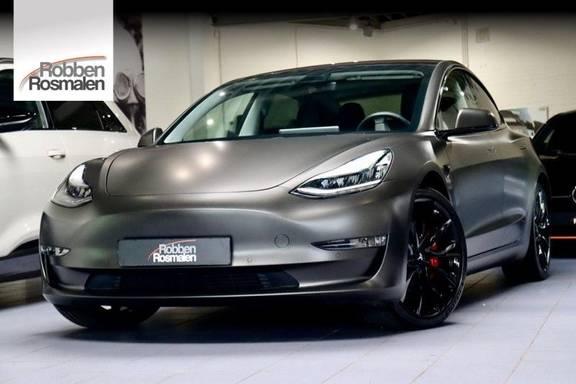 Tesla Model 3 Performance| Autopilot| Matgrijs Prijs excl. btw