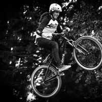 Bike jumping