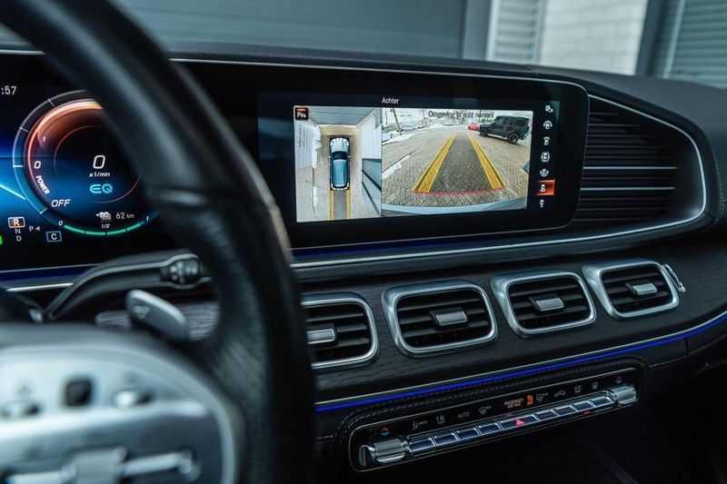 Mercedes-Benz GLE 350 de 4MATIC Premium Plus, 320 PK, AMG/In/Exterieur, Pano/Dak, Massage, Standkachel, Head/Up, BTW, 2020! afbeelding 17