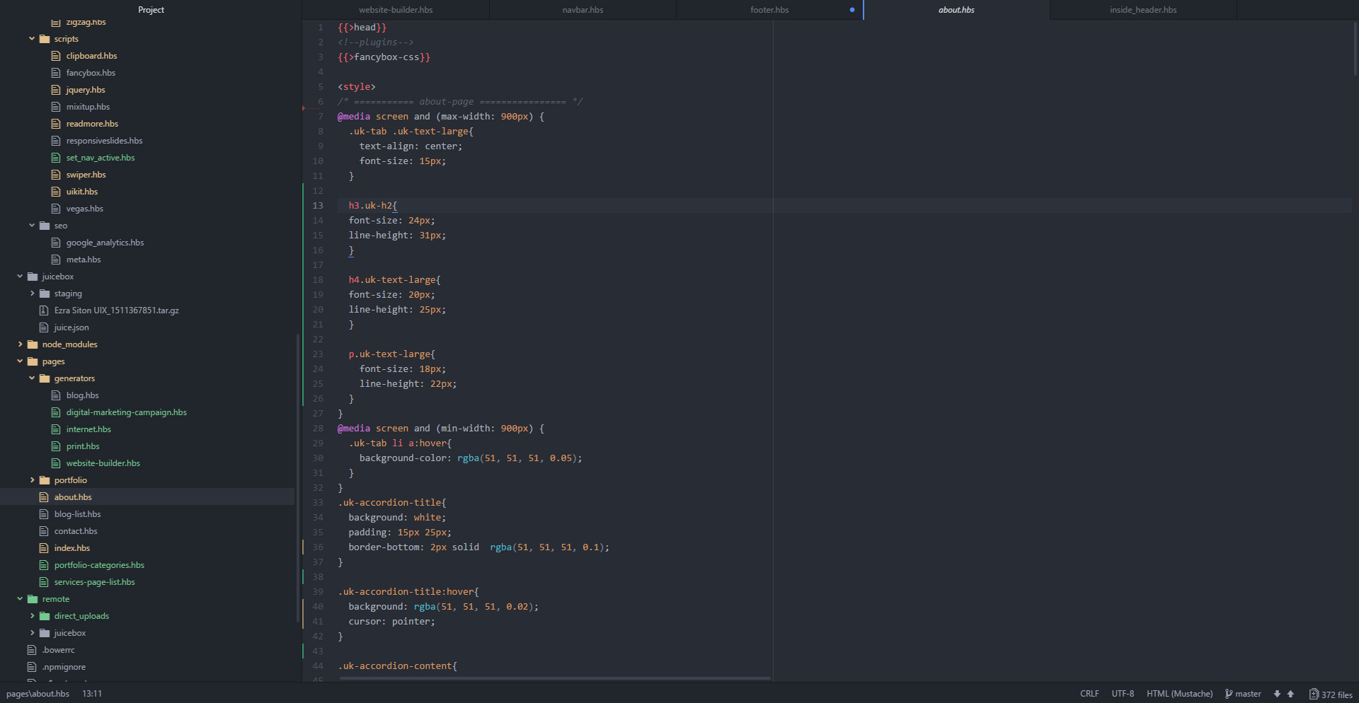 Web development | Ezra Siton