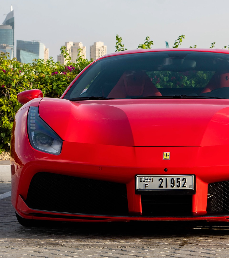 Ferrari 488 front