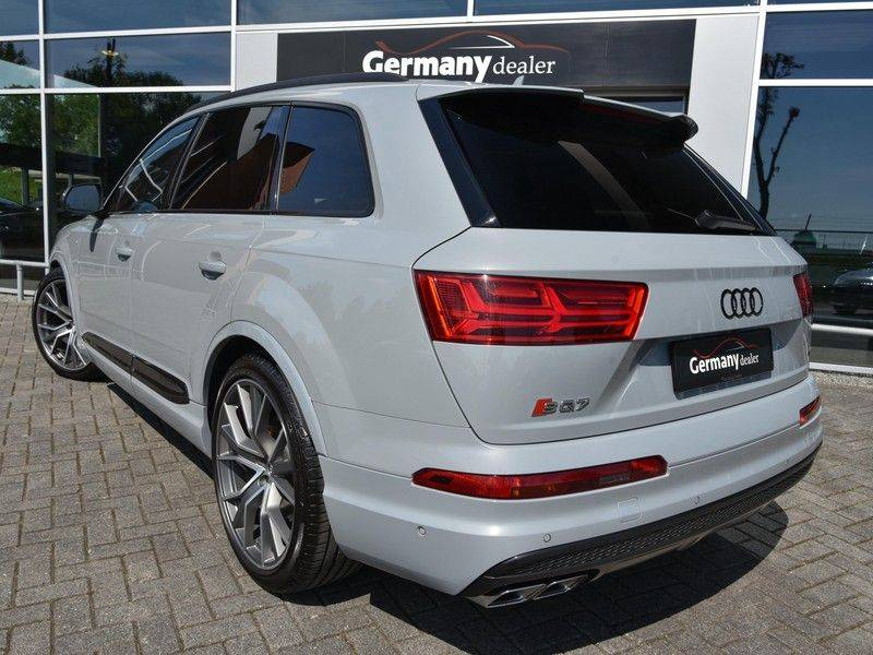 Audi SQ7 4.0TDI Quattro S-Line Individual Lucht Softcl Standk HUD M-Led Rauten Bose Alcant-hemel Leder-Dash afbeelding 13