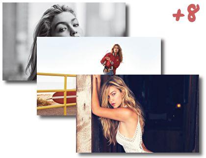Gigi Hadid theme pack