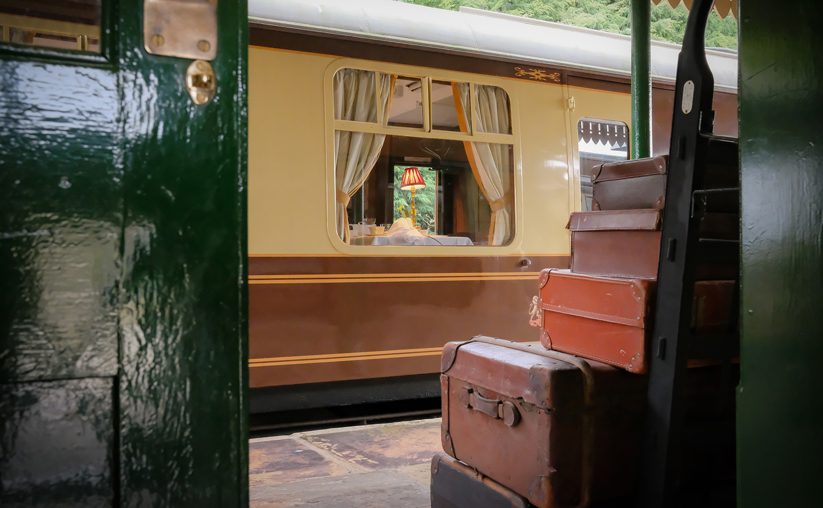 Gourmet Meals, Champagne, and Adventure Aboard a Vintage Train in 'The Dining Car'