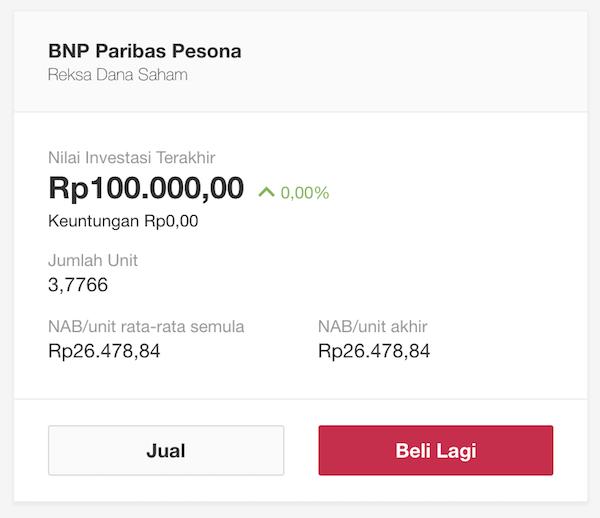 BukaReksa portfolio