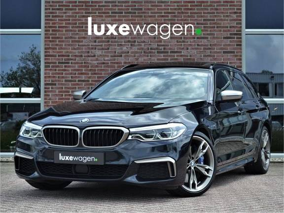 BMW 5 Serie Touring M550d xDrive 400pk Pano Standk ACC 20inch Adp-LED HUD