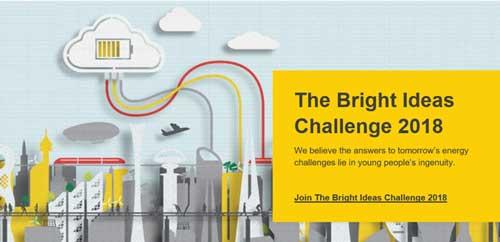 bright ideas challenge 2018