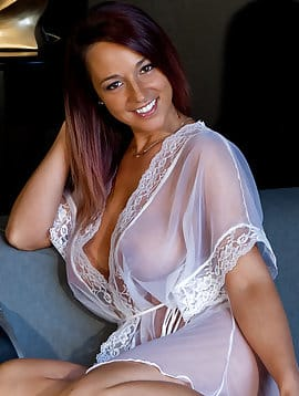 White Sheer Robe