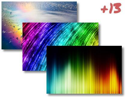 Rainbow theme pack
