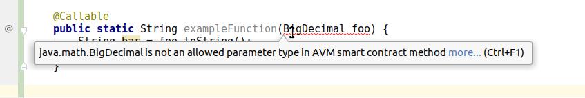 Argument Type Error