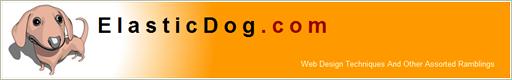 ElasticDog.com's Design from 2003
