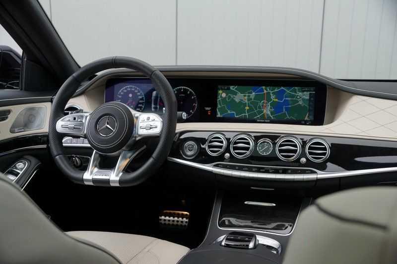 Mercedes-Benz S-Klasse 560 4Matic Lang Premium Plus 470pk / AMG / Nwpr: E186.000,- / Full Options! afbeelding 24