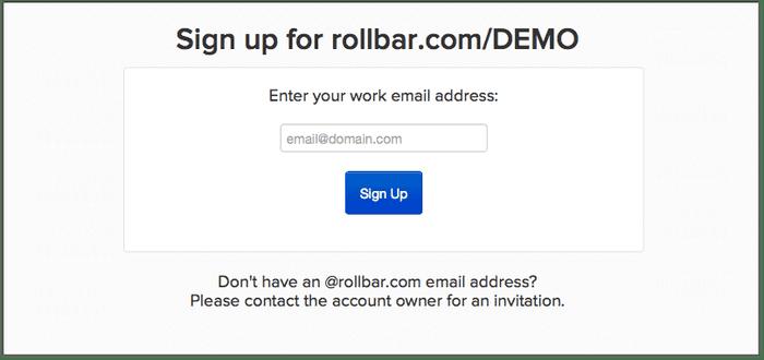 rollbar teams signup 146491 l