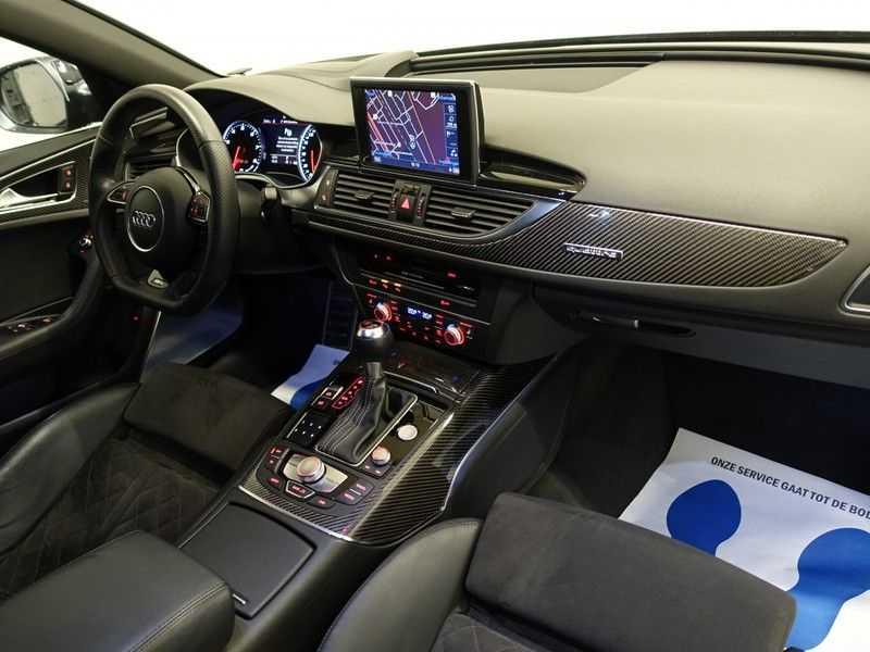 Audi A6 Avant 4.0 TFSI RS6 Quattro Performance 605pk Aut- B&O, Nightvision, Head-up, Orig NL Auto! afbeelding 2