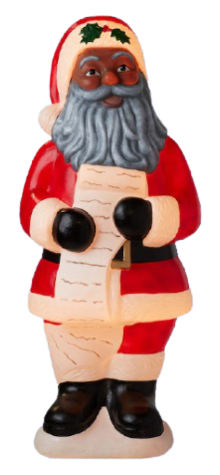 Santa With List photo