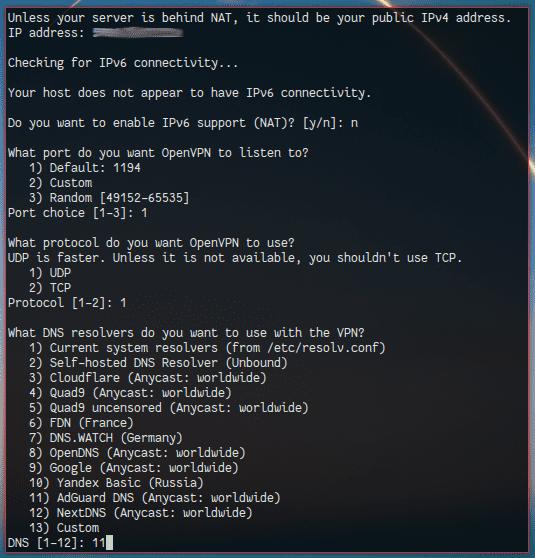 Gambar 2.1 Prekonfigurasi dan Instalasi OpenVPN