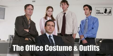 Dress like Pam Beesly, Jim Halpert, Michael Scott, Dwight Schrute or Andy Bernard from The Office