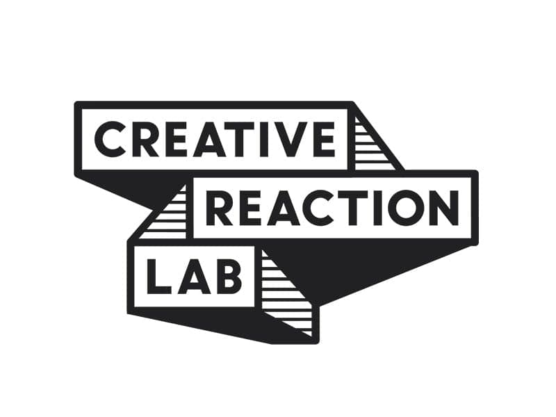 logo for creative reaction lab