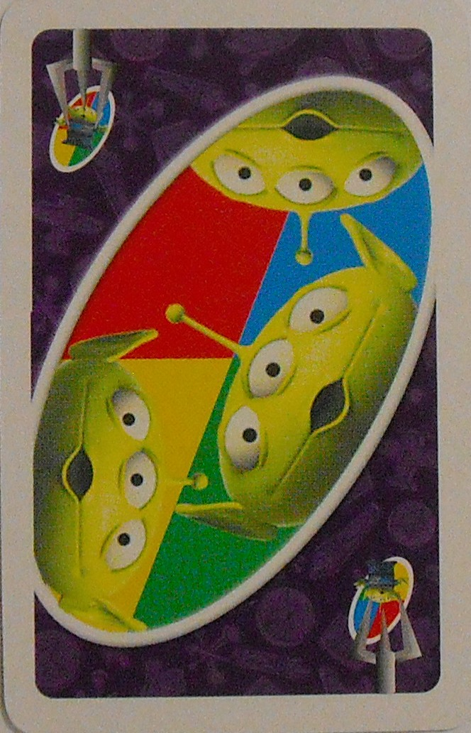 Toy Story Uno (The Claw Card)