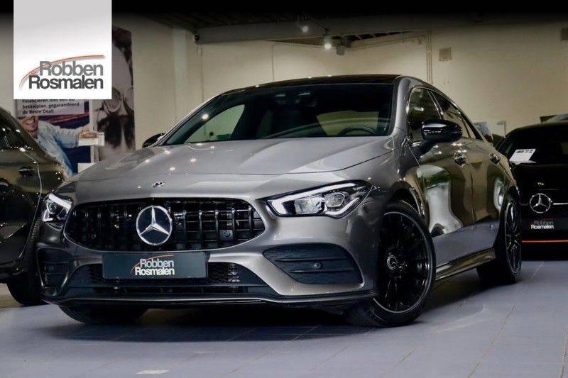Mercedes-Benz CLA-Klasse 220 Premium Plus AMG|NIGHT|PANO|TREKHK Mercedes-Benz CLA-klasse 220 Premium Plus afbeelding 1