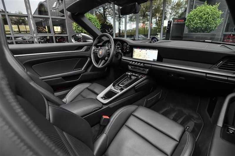 Porsche 911 S CABRIO SPORT CHRONO+SP.UITLAAT+ACC NP.203K afbeelding 11