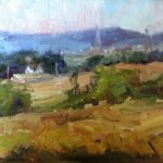 Overlooking Middletown 11x14 sold