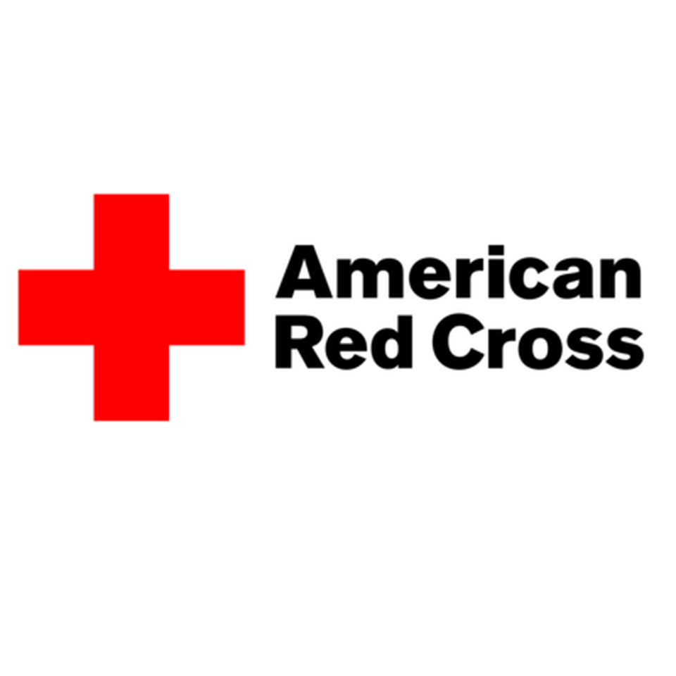 The logo for the American Red Cross