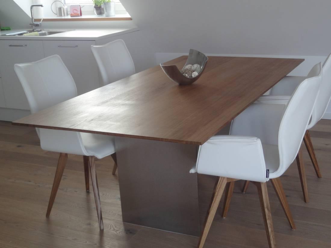 Designertisch aus Eiche