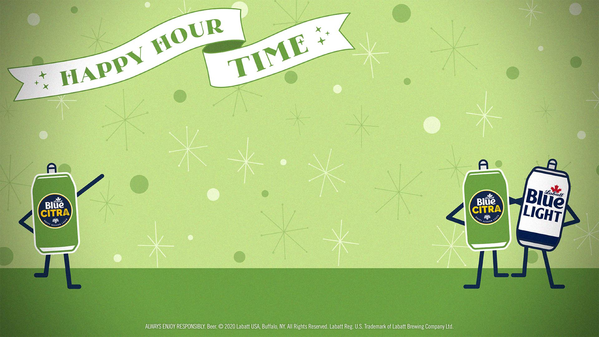 Citra Happy Hour Time Background