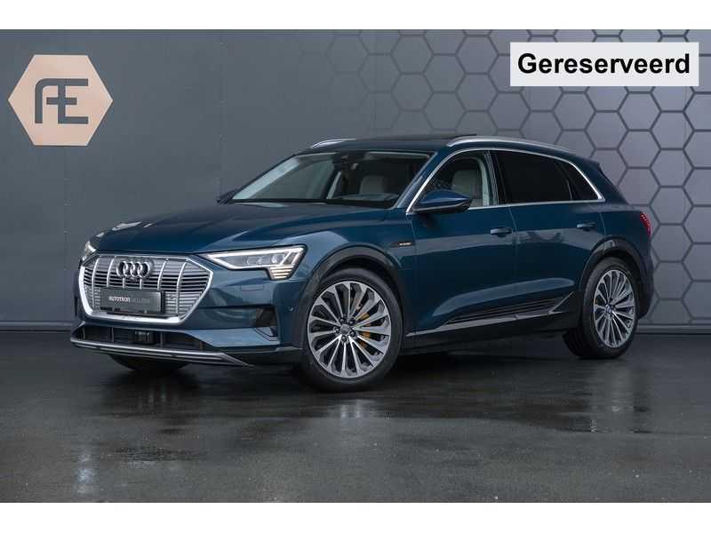 Audi E-tron 55 quattro Advanced Pro Line S 4% bijtelling!! NOV. 2018!! € 146,- netto bijtelling pm! Massage + Head-up + Stoelkoeling