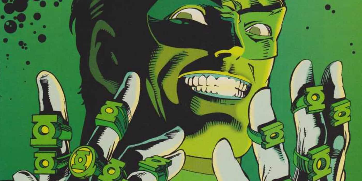 Hal Jordan em Lanterna Verde Crepúsculo Esmeralda